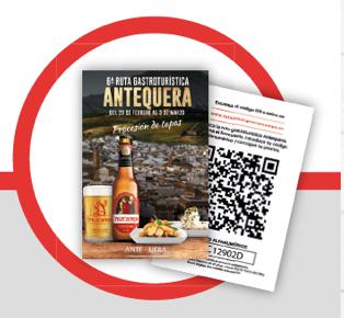 codigo ruta gastroturistica Antequera