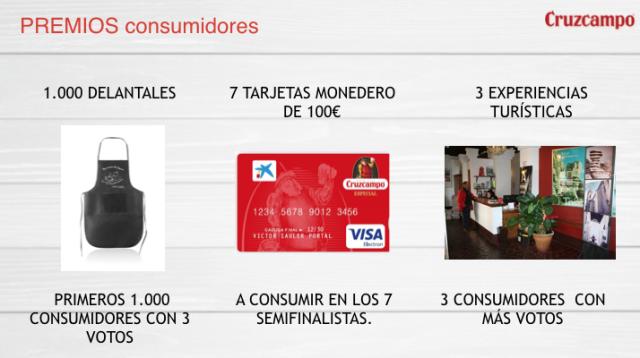 premios consumidores rutas gastroturistica antequera cruzcampo